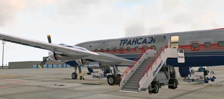 FSX Aircraft Liveries and Textures - Files - PMDG DC-6B