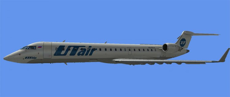 Bombardier CRJ700 UTair VQ-BGH  Textures in  dds format for