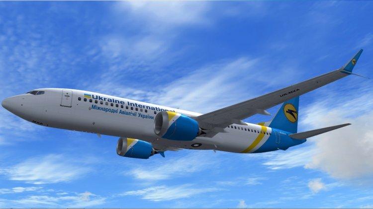 SimCatalog - TDS Boeing 737-8 MAX Ukraine International Airlines