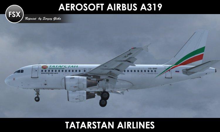 Files - Aerosoft Airbus A319 - Tatarstan - Avsim su