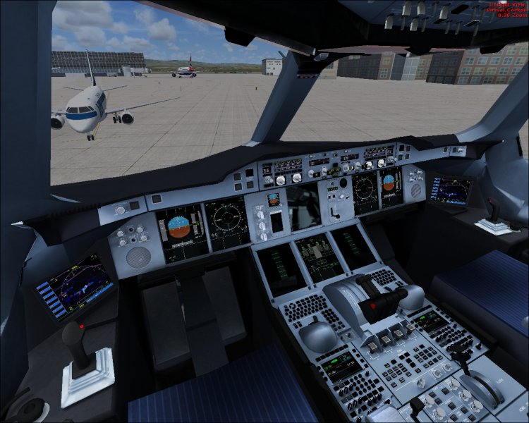Emirates Airbus A380 with a new cockpit! - FSX Aircrafts