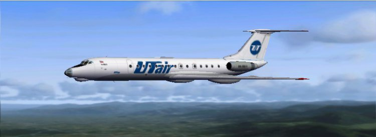Fsx | tu 134 | ту 134 а3 | полет по рсбн (rsbn + gps) | ulaa.