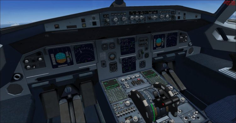 FSX Aircraft and Helicopter Panels - Files - A321 VC updated