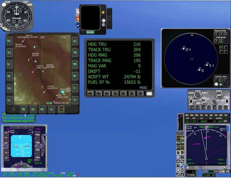 FSX Gauges - Files - АР AN-24 RV - Avsim su