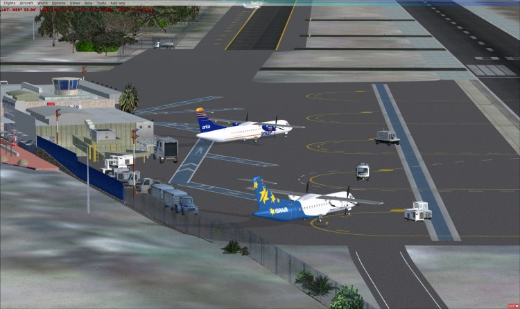 FSX Sceneries - Files - ESGG Göteborg Landvetter Airport - Avsim su