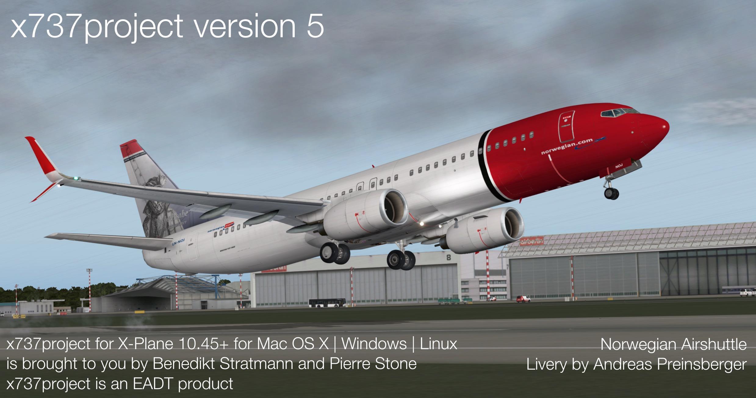 x737project анонсировали версию 5 - Самолеты для X-Plane 10 - AVSIM