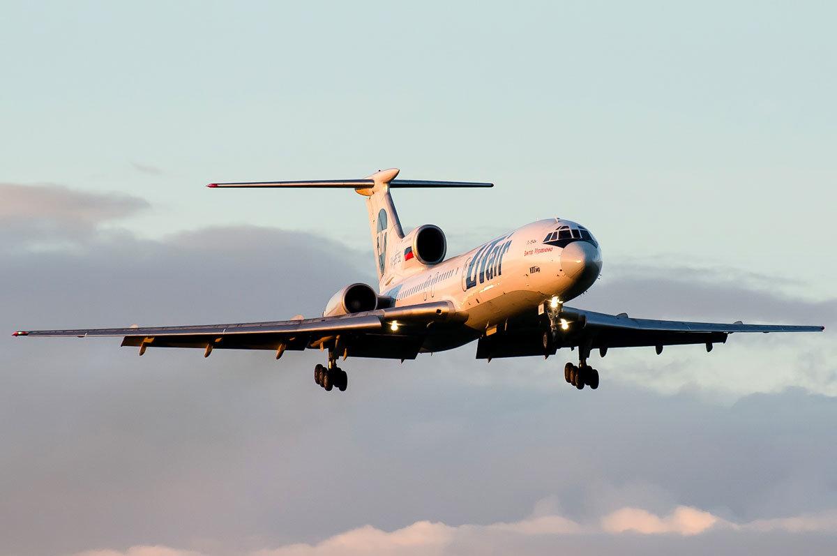Клуб любителей самолета Ту-154